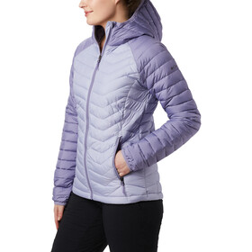 Columbia Powder Lite Kapuzenjacke Damen twilight/dusty iris
